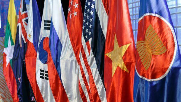 Drapeaux des pays de l'ASEAN - Sputnik France