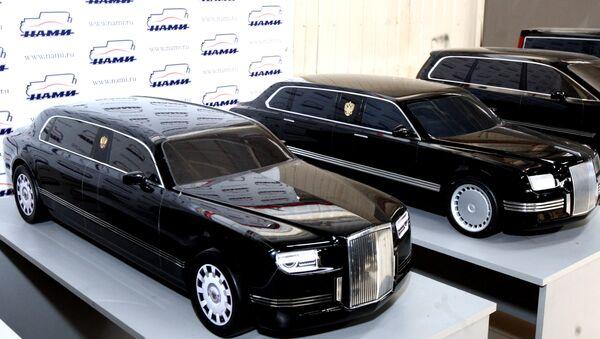 limousine Aurus Senat du projet Cortège - Sputnik France