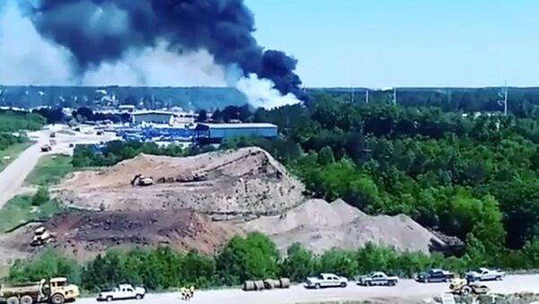 Le site du crash d'un avion militaire de transport US C-130 - Sputnik France