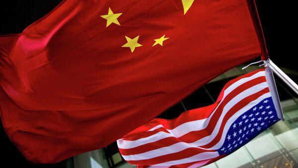 drapeaux de la Chine et des États-Unis - Sputnik France
