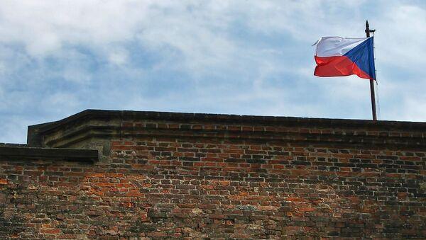 Česká vlajka - Sputnik France