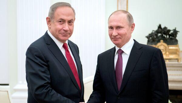 Rencontre Poutine-Netanyahu à Moscou (archive photo) - Sputnik France