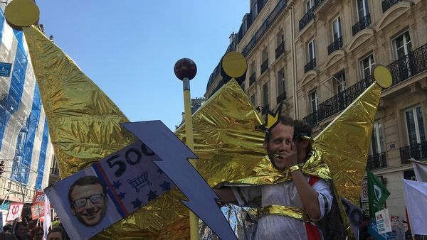 Manif - Sputnik France
