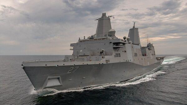 USS Portland (LPD 27) - Sputnik France