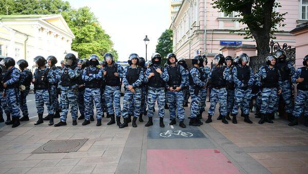 Les policiers russes - Sputnik France