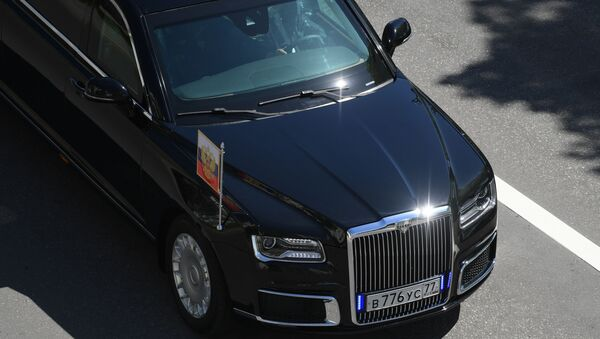 La limousine Aurus du Président russe - Sputnik France