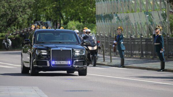 La limousine de Vladimir Poutine - Sputnik France