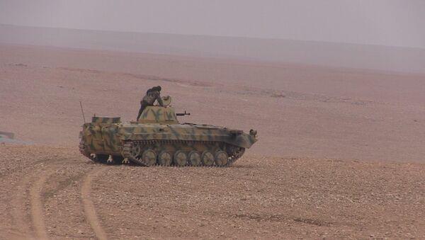 Les FDS lors de l'opération de libération de Deir ez-Zor - Sputnik France