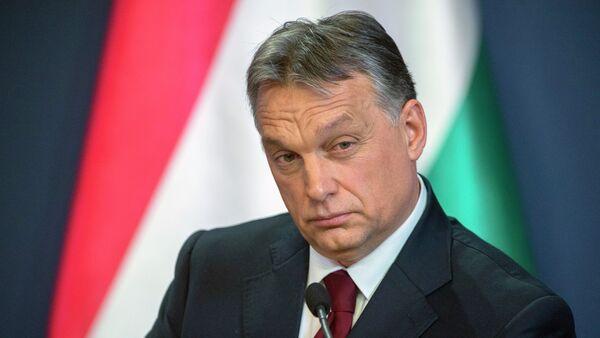 Le Premier ministre hongrois Viktor Orban - Sputnik France