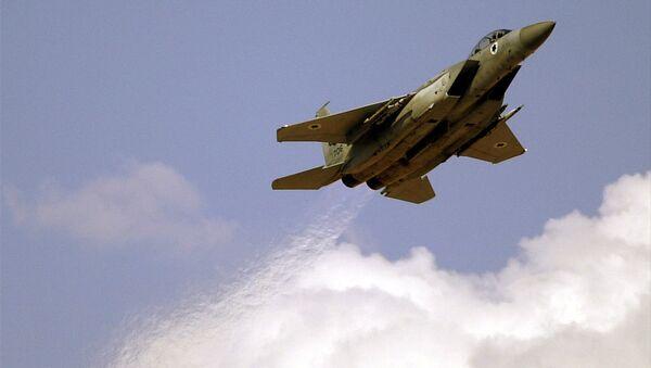 Un F-15 israélien (archive photo) - Sputnik France