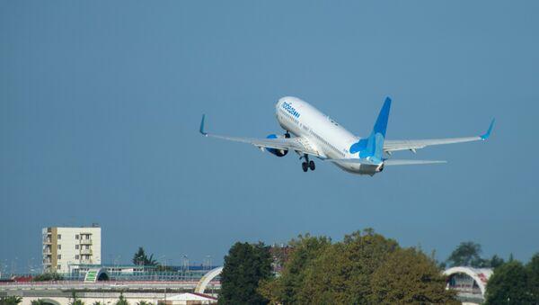 Un Boeing de la compagnie aérienne Pobeda - Sputnik France
