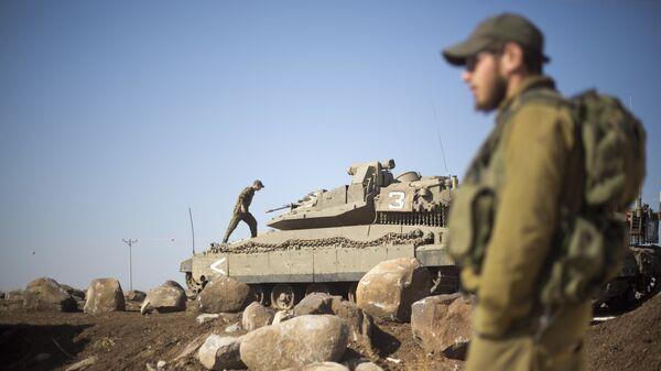 Israels Armee, Golan Höhe (Archiv) - Sputnik France