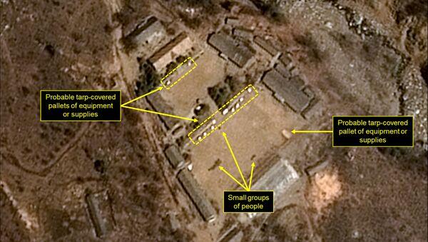 Le polygone d'essais nucléaires nord-coréen de Punggye-ri - Sputnik France