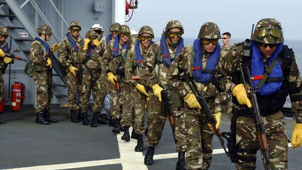 Des soldats de la marine algérienne - Sputnik France