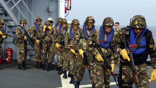 Des soldats des forces spéciales algériennes - Sputnik France