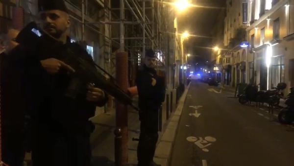 Le 2e arrondissement de Paris après une attaque au couteau (12 mai 2018) - Sputnik France