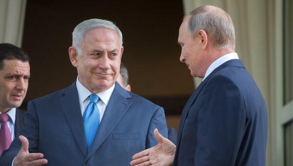 Vladimir Poutine et Benyamin Netanyahou - Sputnik France
