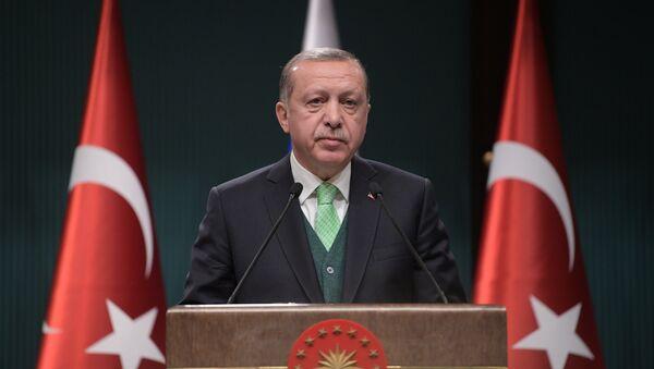El presidente turco Recep Tayyip Erdogan (archivo) - Sputnik France