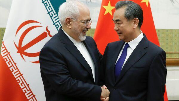 Wang Yi et Mohammad Javad Zarif à Pékin - Sputnik France