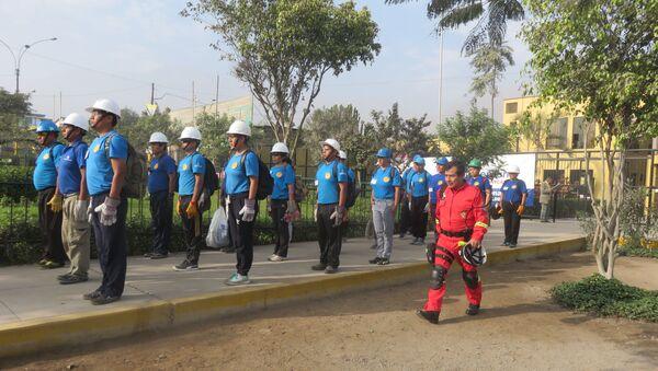 Pérou: une équipe de pompiers volontaires sera créée en reconnaissance à l'URSS - Sputnik France