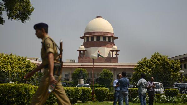 Indian Supreme court in New Delhi - Sputnik France