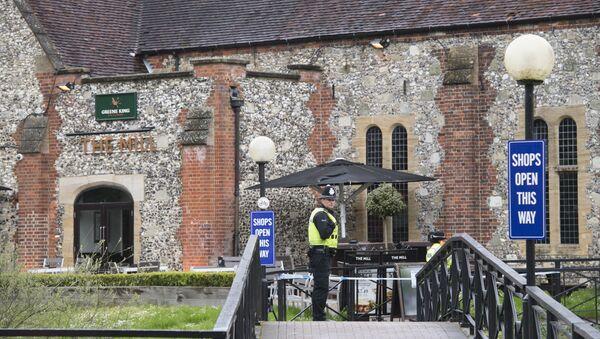 Un pub de Salisbury où des traces de poison ont été découvertes - Sputnik France