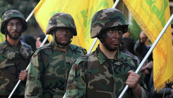 Combattants du Hezbollah - Sputnik France