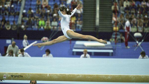Une gymnaste (photo d'illustration) - Sputnik France