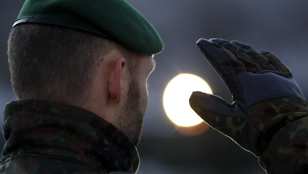 Un soldat de la Bundeswehr - Sputnik France