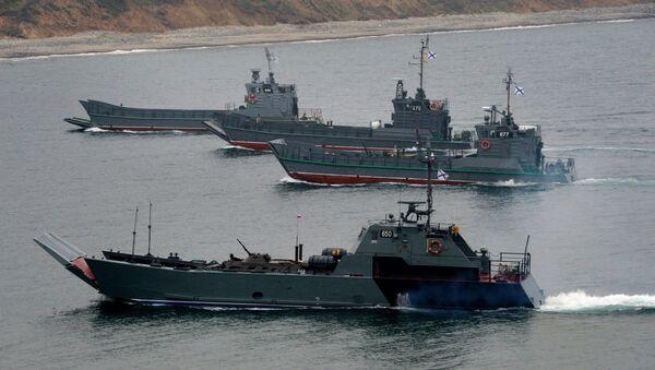 Navires de la Flotte russe du Pacifique - Sputnik France