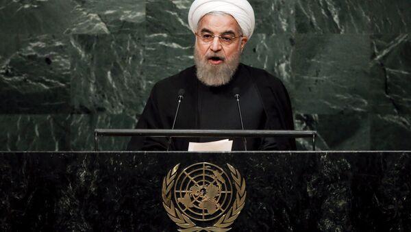 Président iranien Hassan Rohani - Sputnik France