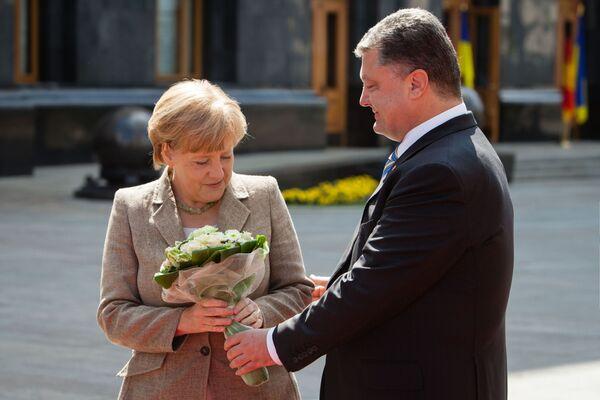 Les fleurs offertes aux dirigeants politiques - Sputnik France