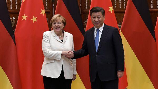 Angela Merkel et Xi Jinping - Sputnik France