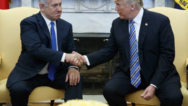 Benyamin Netanyahou et Donald Trump - Sputnik France