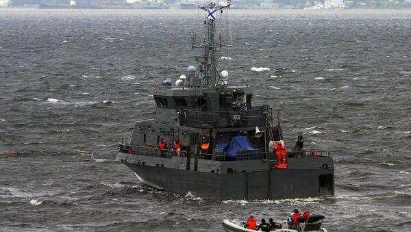 Le navire anti-saboteur Gratchonok - Sputnik France