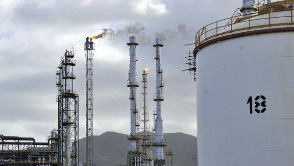 Raffinerie pétrolière. Image d'illustration - Sputnik France