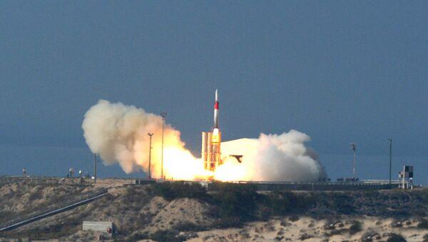 Missile Arrow 3 israélien - Sputnik France