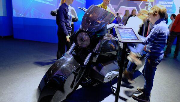 moto du projet Cortège - Sputnik France