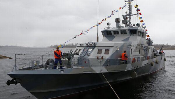 Le navire anti-sabotage Gratchonok - Sputnik France