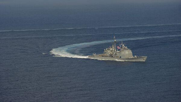USS Antietam - Sputnik France