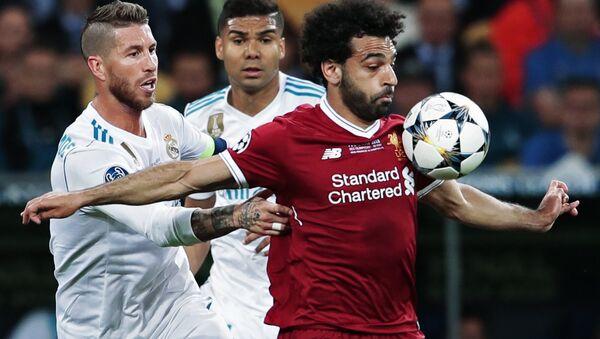 Mohamed Salah pendant la finale de la Ligue des champions - Sputnik France