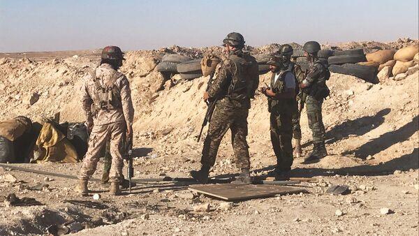 Наступление сирийской армии в районе Дейр-эз-Зора - Sputnik France