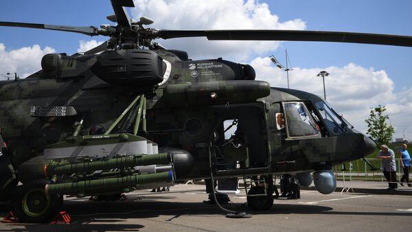Международная выставка вертолетной индустрии HeliRussia 2018 - Sputnik France