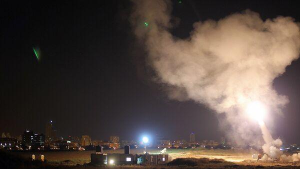 Iron Dome system intercepts Gaza rockets aimed at central Israel - Sputnik France