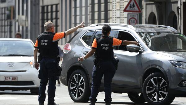 La police à Liège - Sputnik France
