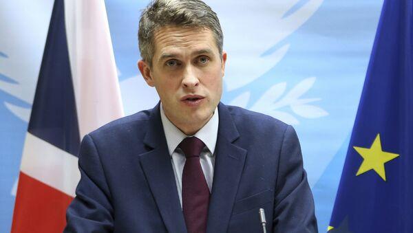 Britain's Defence Secretary Gavin Williamson - Sputnik France