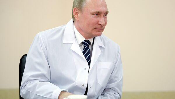 Vladimir Poutine (image d'illustration) - Sputnik France