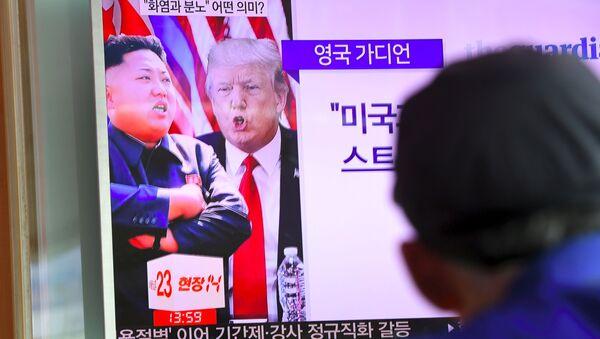 Donald Trump et Kim Jong-un - Sputnik France