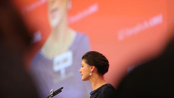 Sahra Wagenknecht - Sputnik France