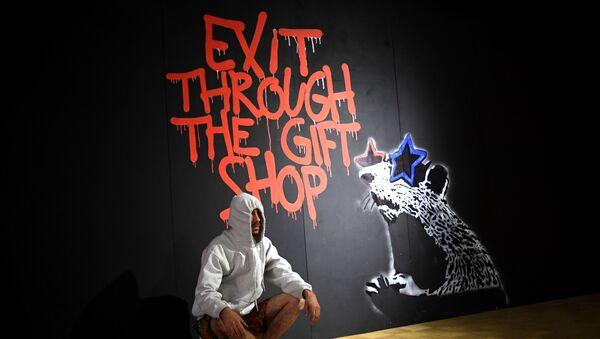 Génie ou vandale: exposition de Banksy à Moscou - Sputnik France